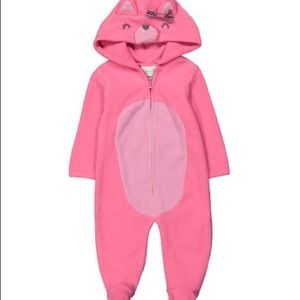 Nannette Baby Infant Girls Bunting Hooded 3-6M NWT
